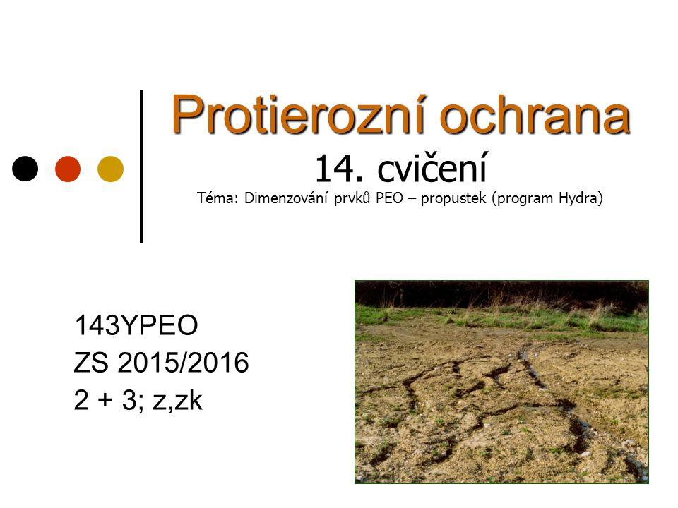 Protierozní ochrana 14.