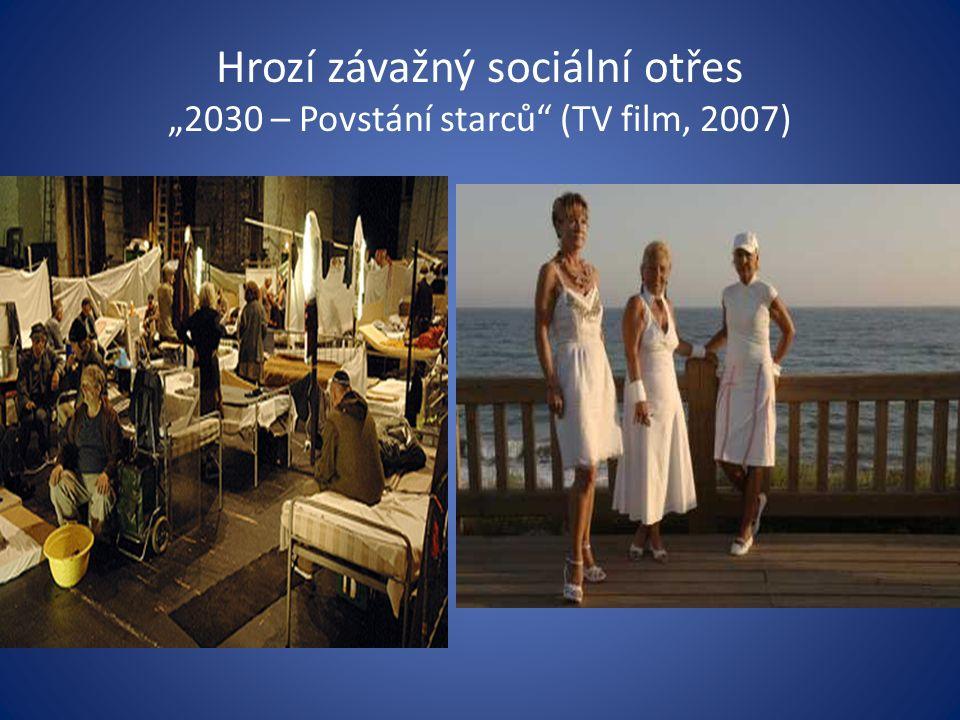 """Hrozí závažný sociální otřes """"2030 – Povstání starců (TV film, 2007)"""