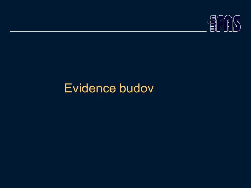 Evidence budov