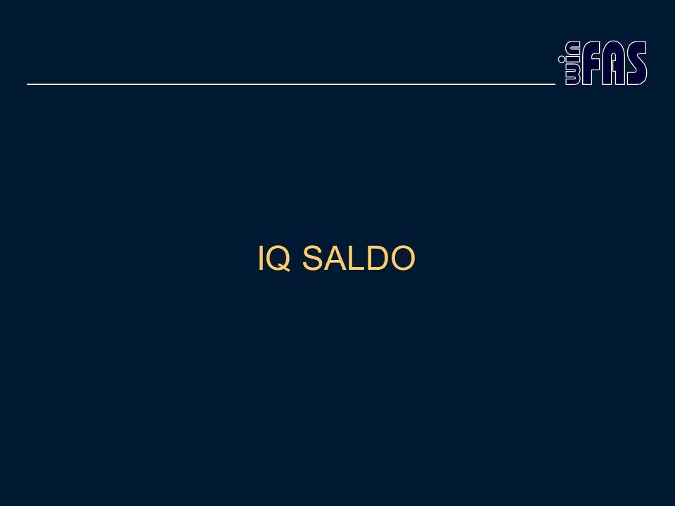 IQ SALDO
