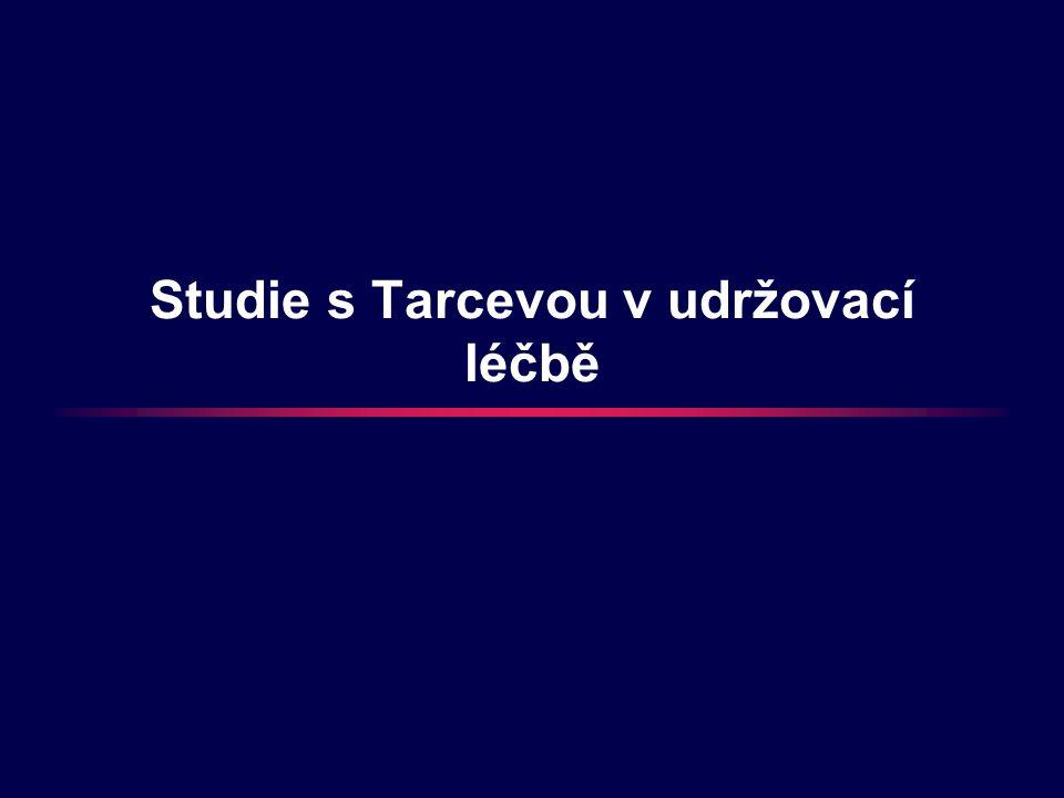 Studie s Tarcevou v udržovací léčbě