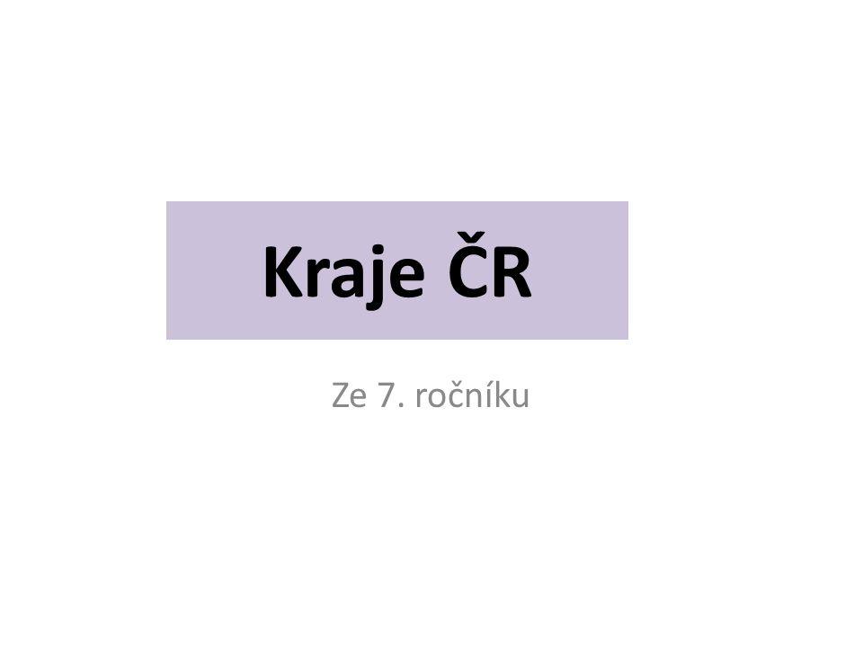 Kraje ČR Ze 7. ročníku