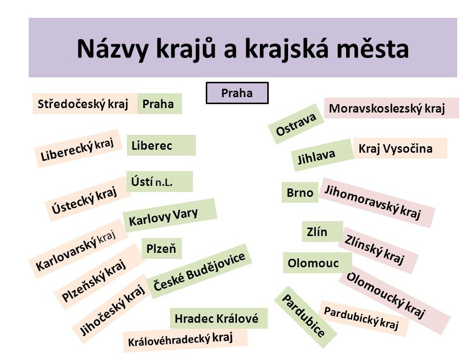 Hlavní město Praha má postavení kraje.Hlavní pravomoce má úřad MAGISTRÁT.