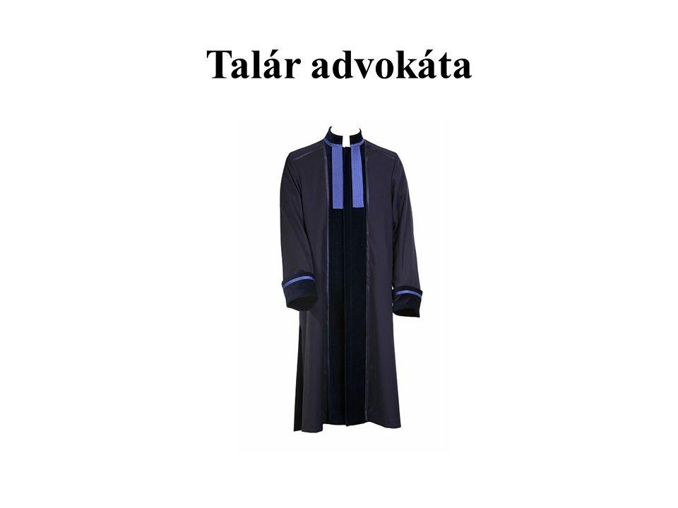 Talár advokáta