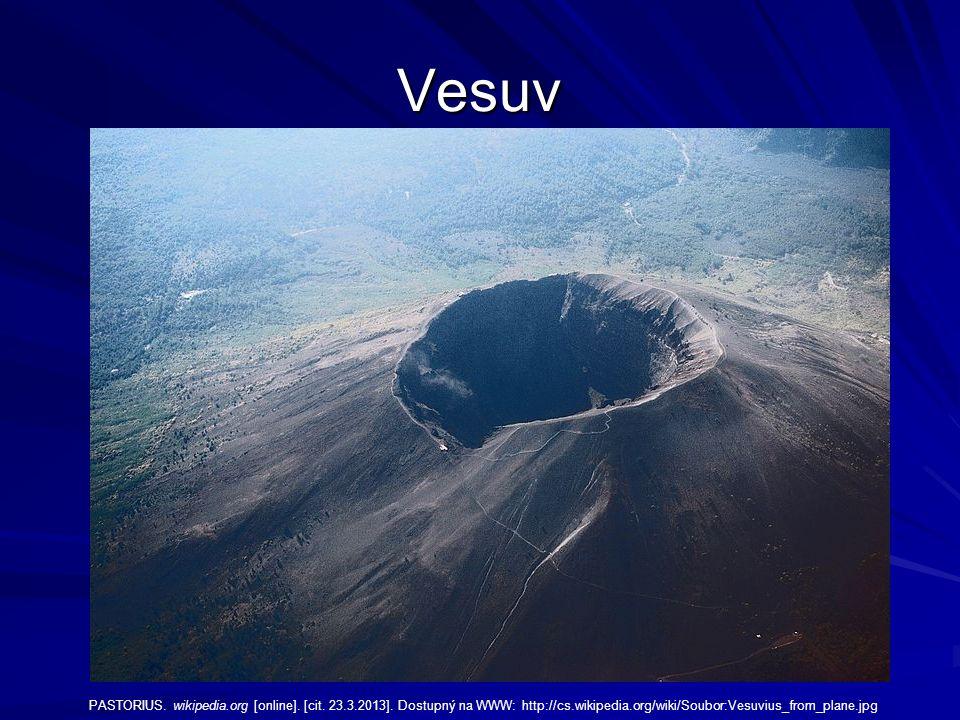 Vesuv PASTORIUS. wikipedia.org [online]. [cit. 23.3.2013].