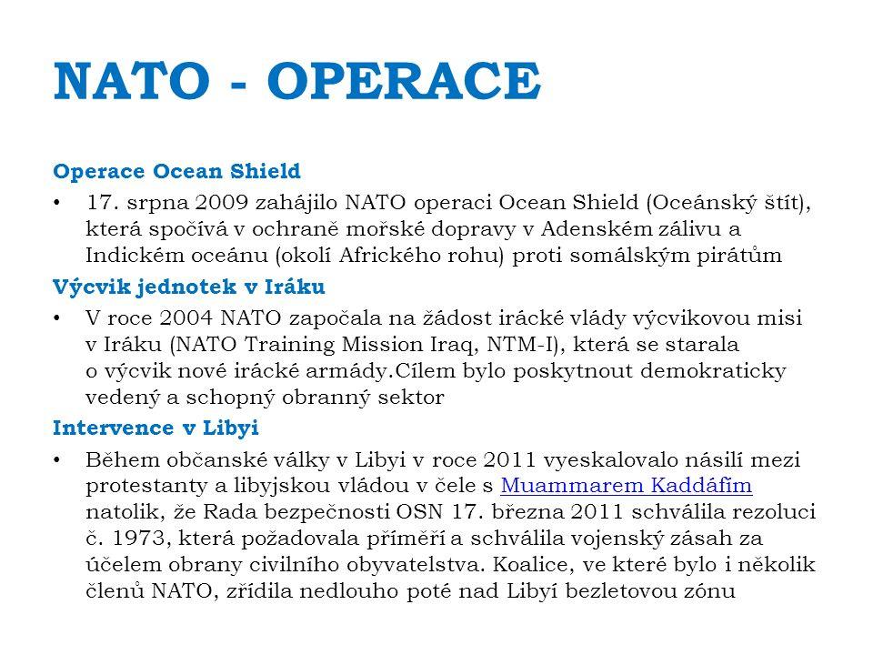 NATO - OPERACE Operace Ocean Shield 17.