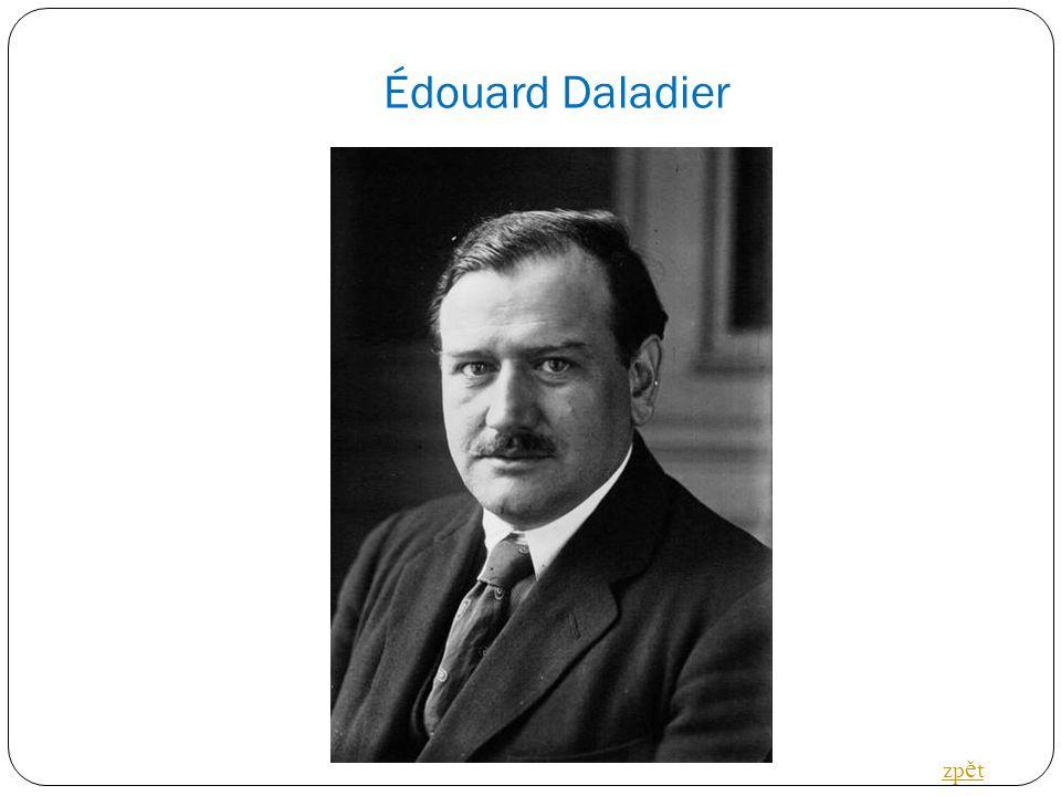 Édouard Daladier zp ě t
