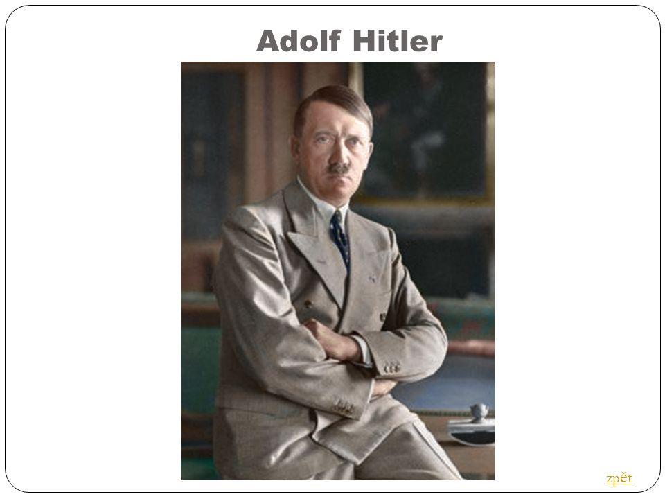 Adolf Hitler zp ě t