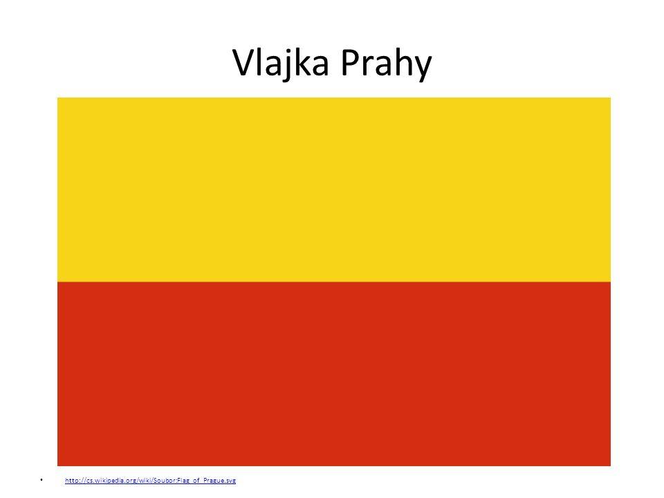 Vlajka Prahy http://cs.wikipedia.org/wiki/Soubor:Flag_of_Prague.svg