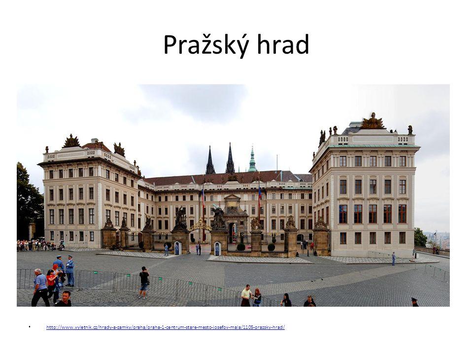 Pražský hrad http://www.vyletnik.cz/hrady-a-zamky/praha/praha-1-centrum-stare-mesto-josefov-mala/1105-prazsky-hrad/