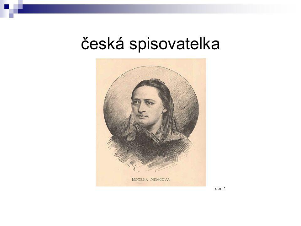 česká spisovatelka obr. 1