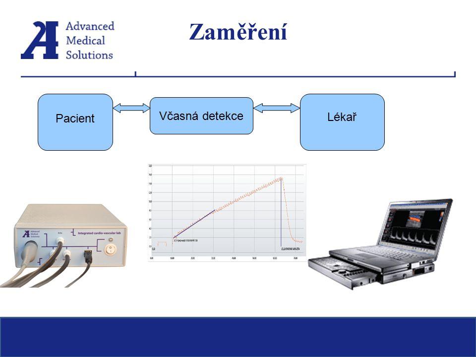 Zaměření Pacient Včasná detekce Lékař