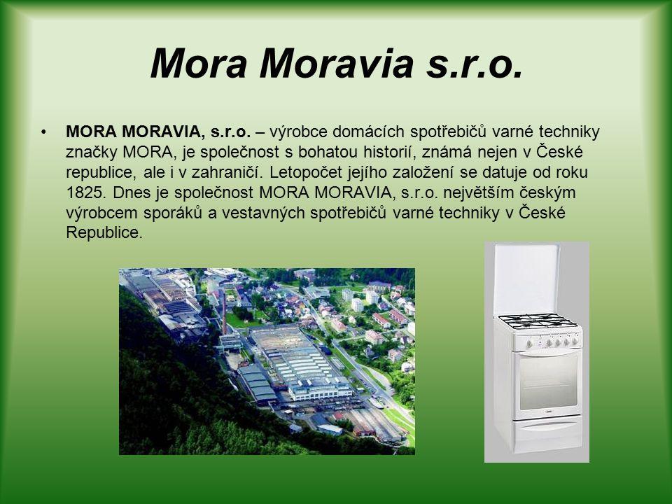 Mora Moravia s.r.o. MORA MORAVIA, s.r.o.