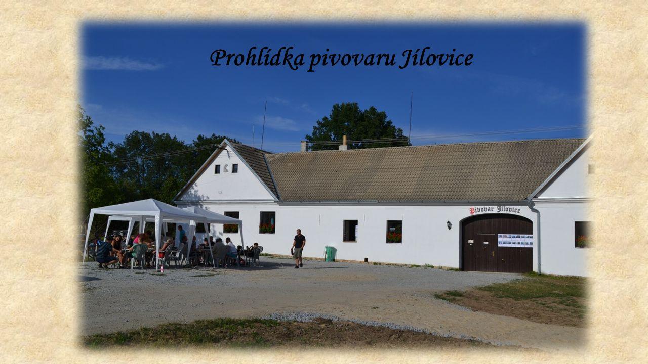 Prohlídka pivovaru Jílovice