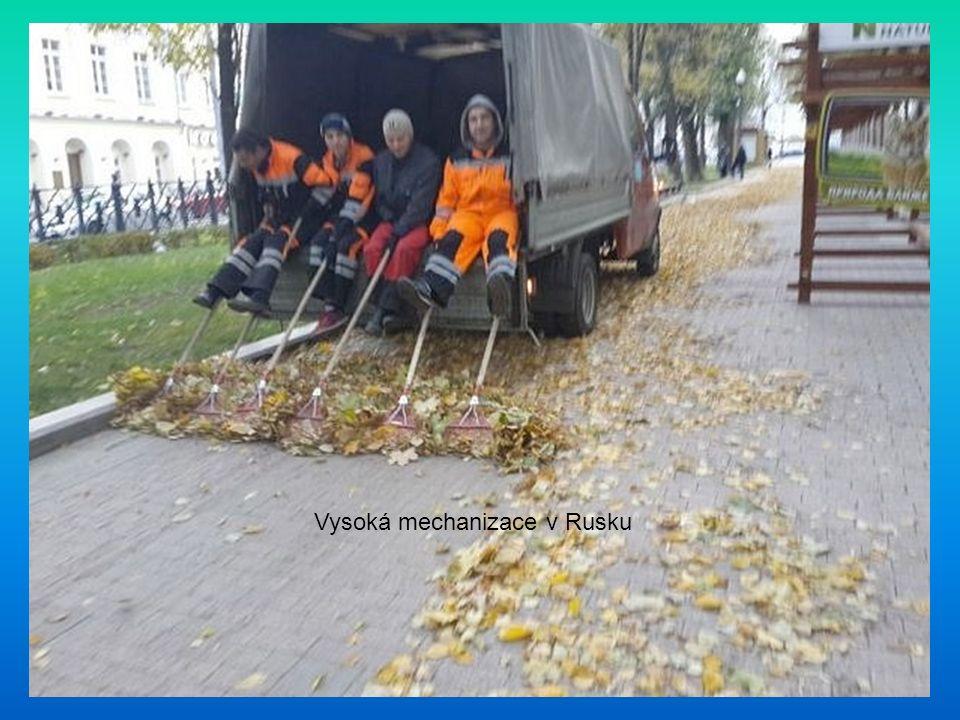 Vysoká mechanizace v Rusku