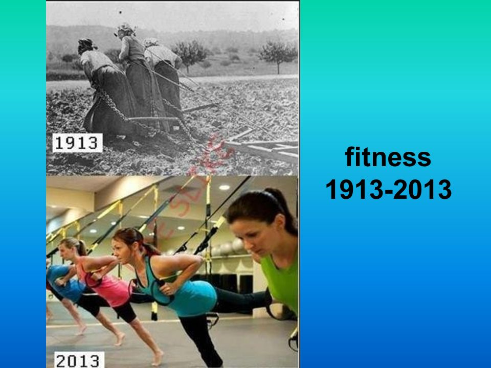 fitness 1913-2013