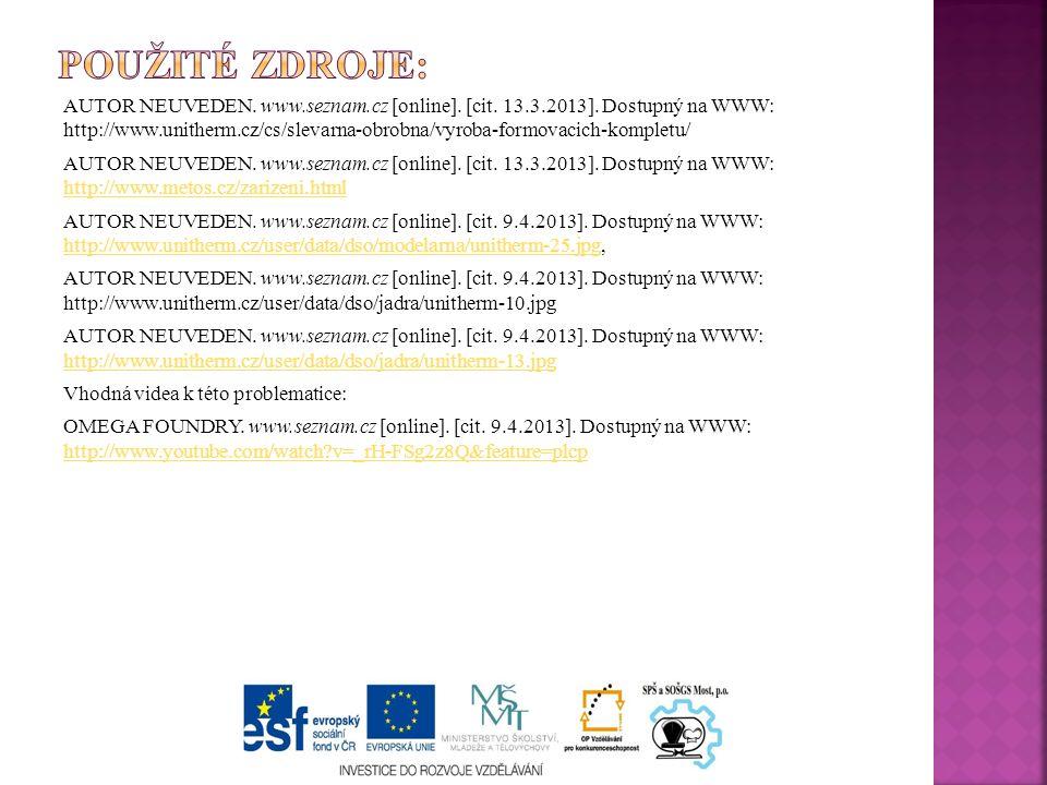 AUTOR NEUVEDEN. www.seznam.cz [online]. [cit. 13.3.2013].