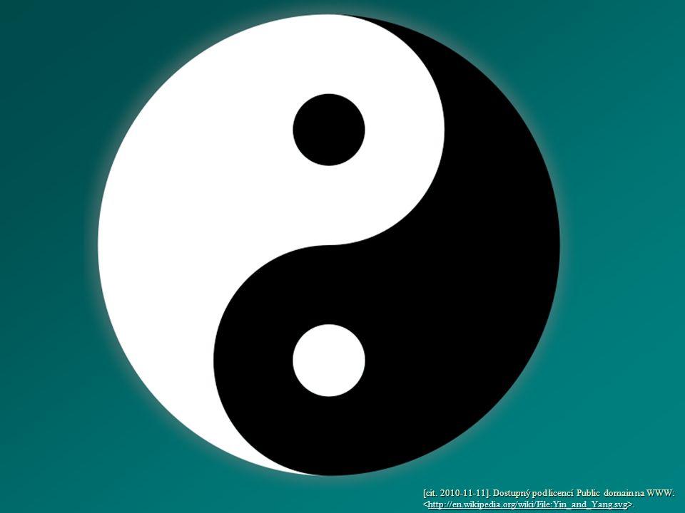 Učení o jin a jang je obsažené už v knize I-ťing (Kniha proměn) 18.