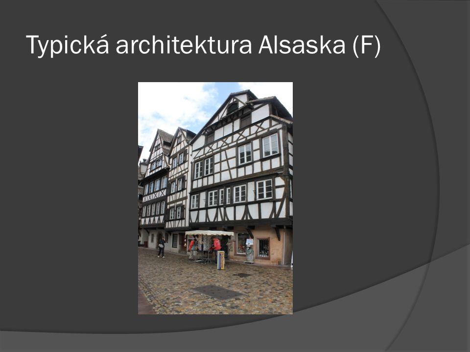 Typická architektura Alsaska (F)