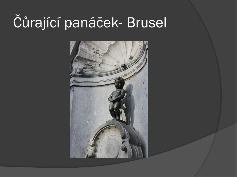 Čůrající panáček- Brusel