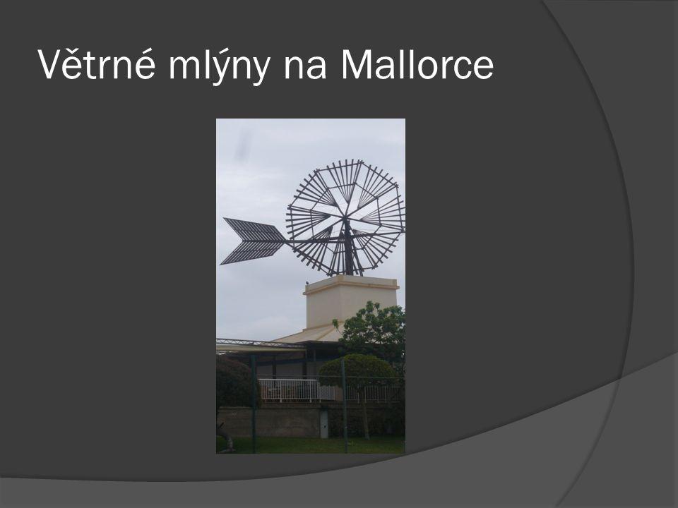 Větrné mlýny na Mallorce