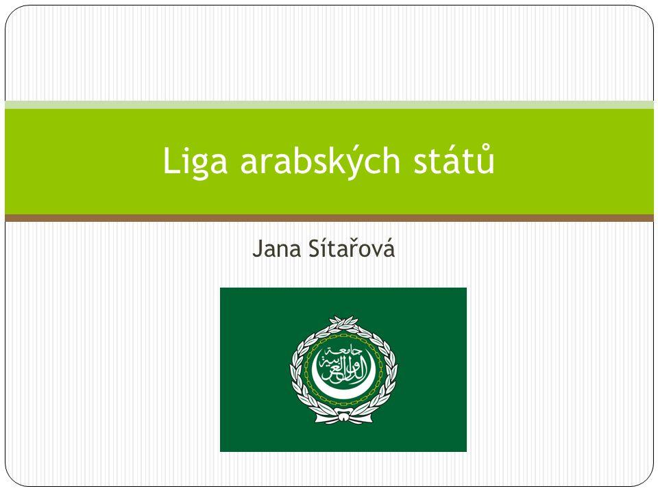Jana Sítařová Liga arabských států