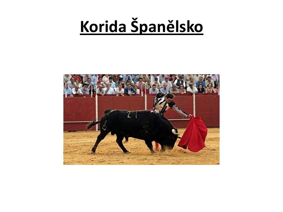 Korida Španělsko