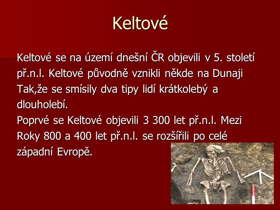Oppidia Největší oppidium v Evropě je na Zbraslavi.