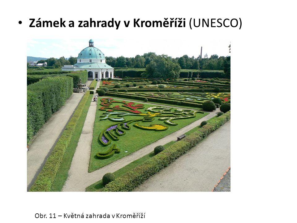 Zámek a zahrady v Kroměříži (UNESCO) Obr. 11 – Květná zahrada v Kroměříží