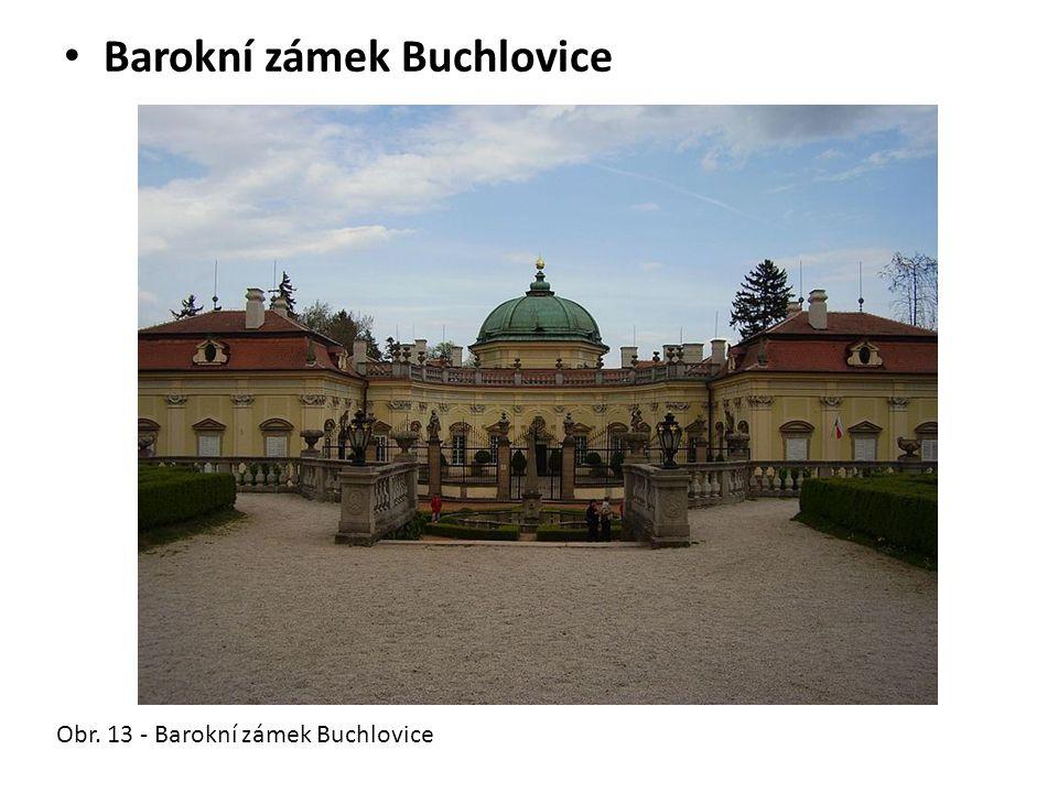 Barokní zámek Buchlovice Obr. 13 - Barokní zámek Buchlovice