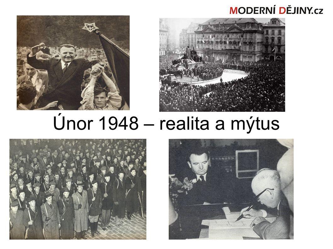 Únor 1948 – realita a mýtus