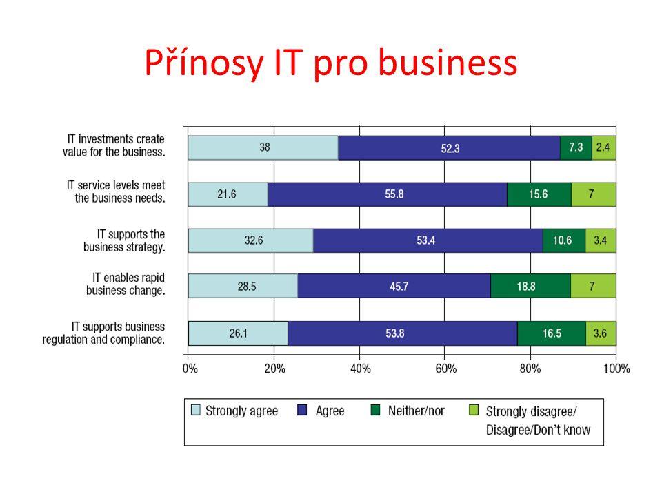 Přínosy IT pro business