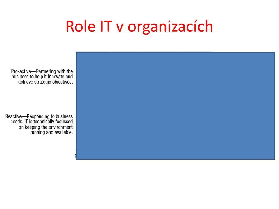 Role IT v organizacích