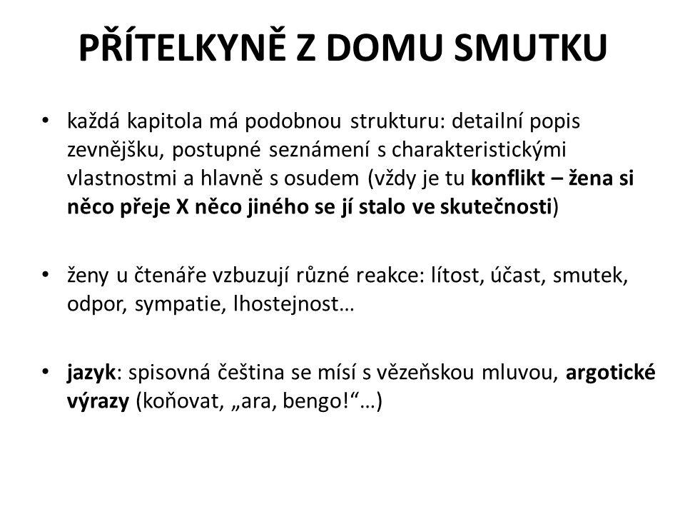 PŘÍTELKYNĚ Z DOMU SMUTKU kniha zpracována jako 4dílný TV seriál s Ivanou Chýlkovou v hlavní roli (režie Hynek Bočan) http://www.youtube.com/watch?v=q5jTe0bvZ fI&NR=1&feature=endscreen http://www.youtube.com/watch?v=q5jTe0bvZ fI&NR=1&feature=endscreen
