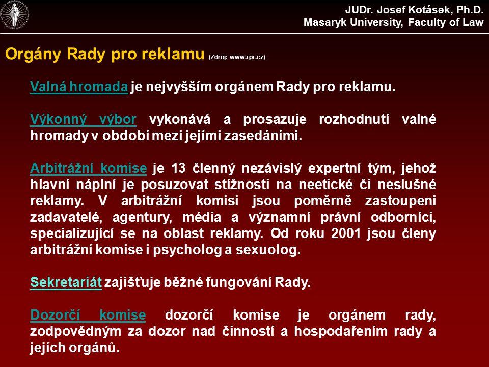 Další regulované oblasti JUDr.Josef Kotásek, Ph.D.
