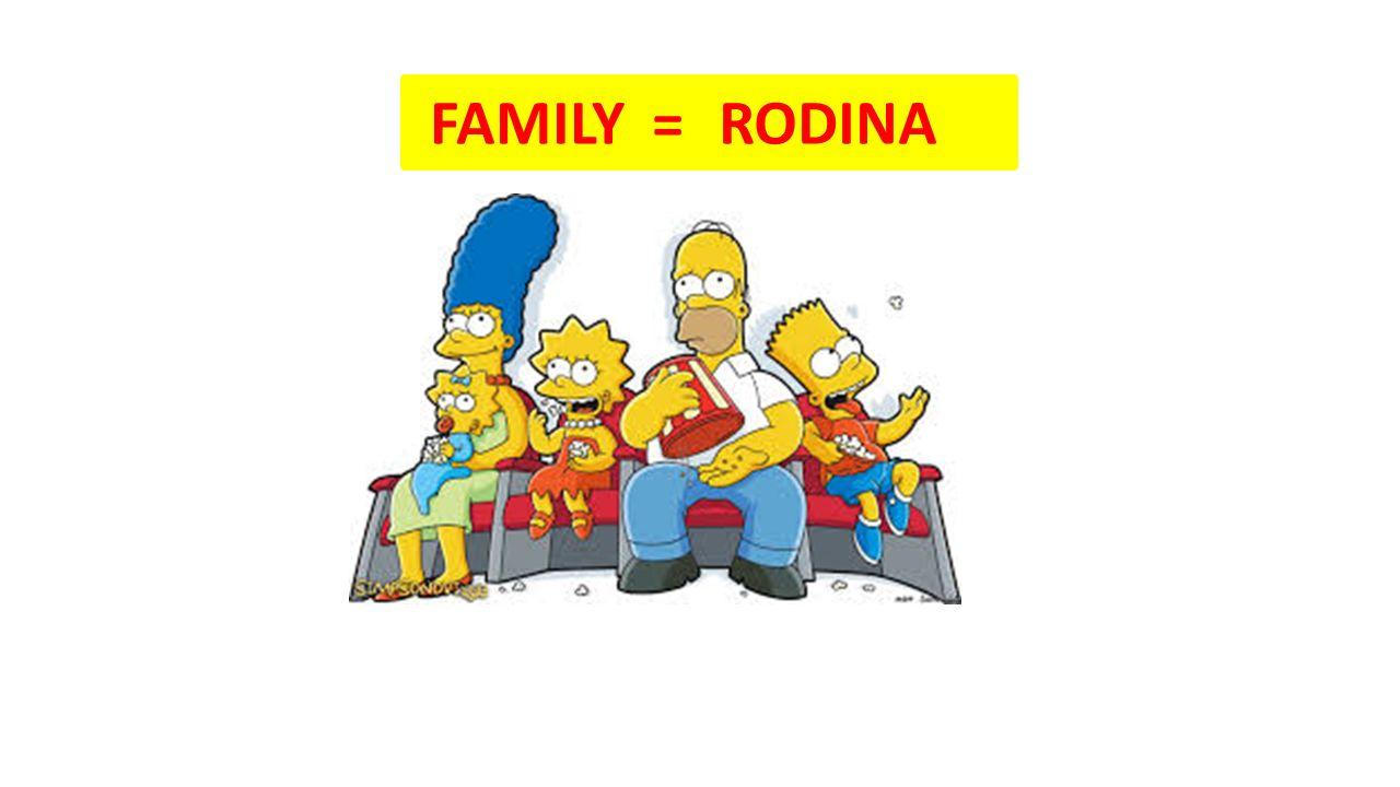 FAMILY = RODINA