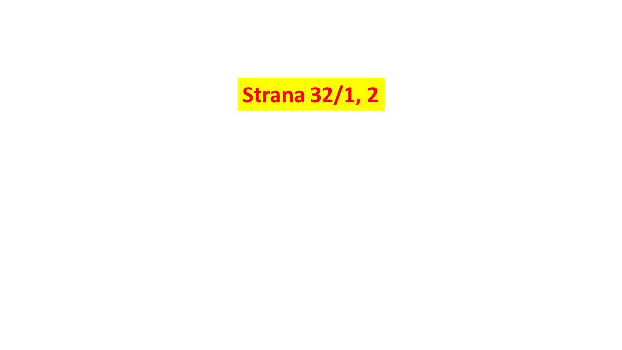 Strana 32/1, 2