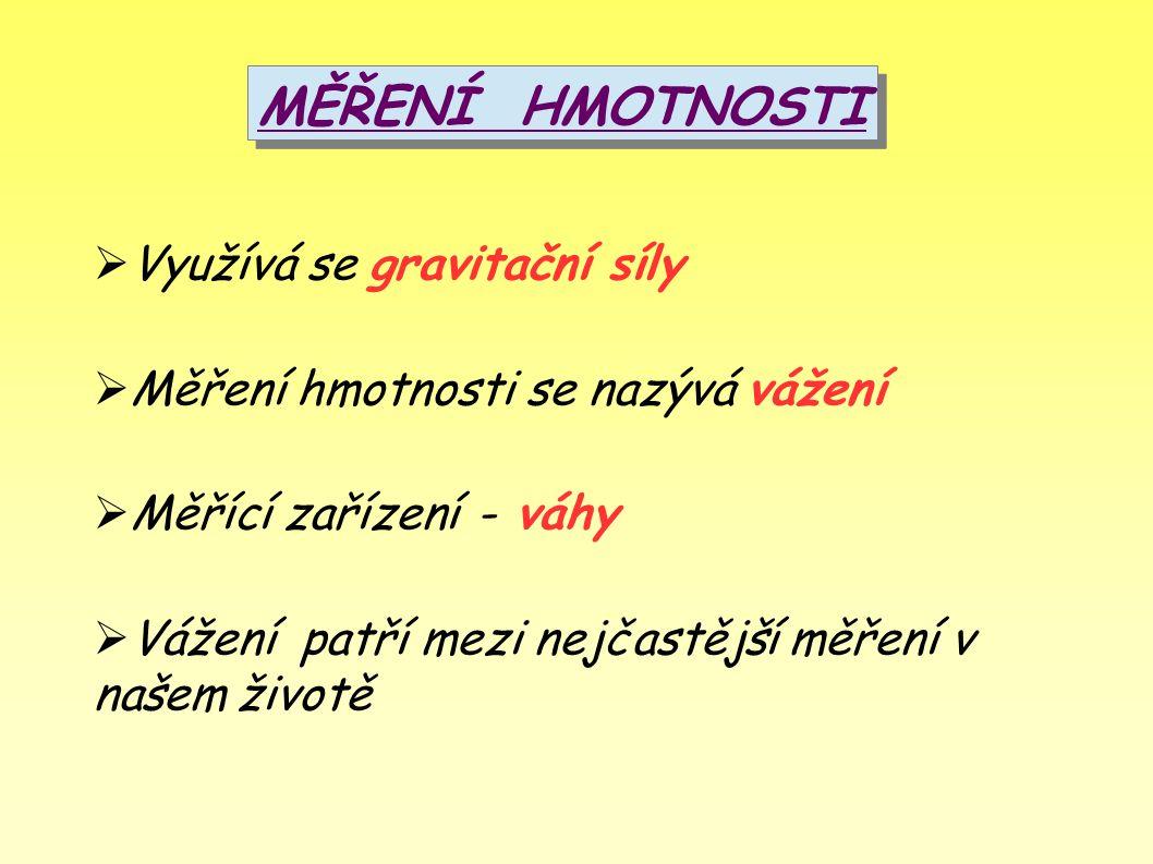 HUSTOTA A JEJÍ MĚŘENÍ Hustota se značí řeckým písmenem ρ = čteme ró Hustota látky je hmotnost látky připadající na jednotku objemu v cm3.