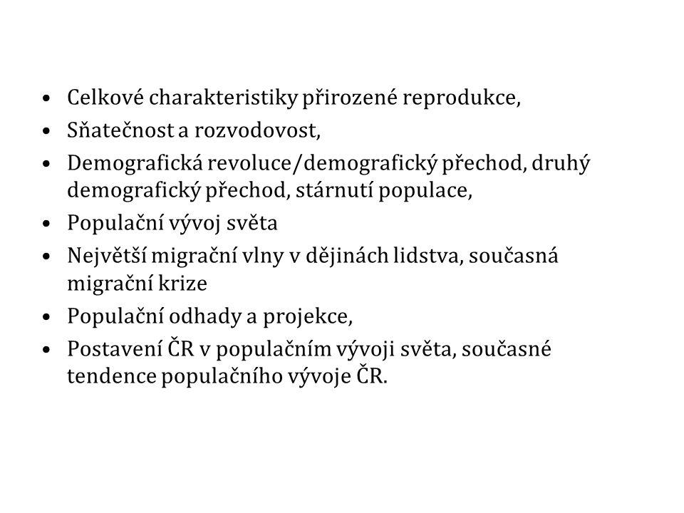 VÝUKA DEMOGRAFIE NA JINÝCH VYSOKÝCH ŠKOLÁCH V ČR Katedra demografie a geodemografie, Přírodovědecká fakulta, Univerzita Karlova v Praze (od roku 1990; prof.