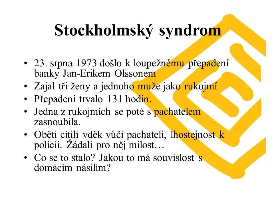 Stockholmský syndrom 23.
