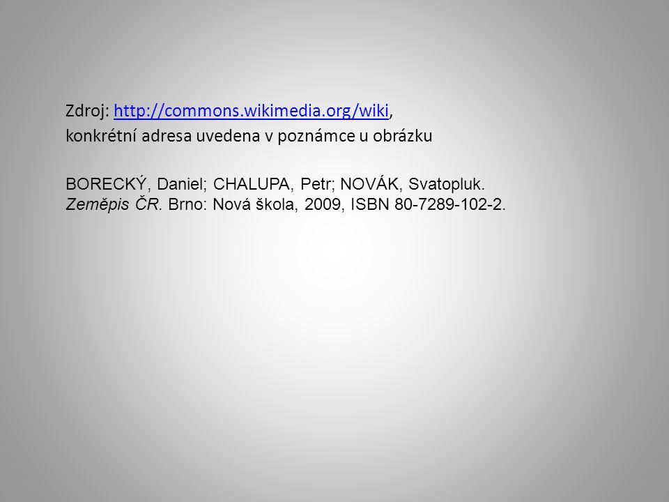 Zdroj: http://commons.wikimedia.org/wiki, konkrétní adresa uvedena v poznámce u obrázkuhttp://commons.wikimedia.org/wiki BORECKÝ, Daniel; CHALUPA, Pet