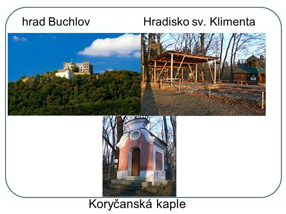 hrad Buchlov Hradisko sv. Klimenta Koryčanská kaple