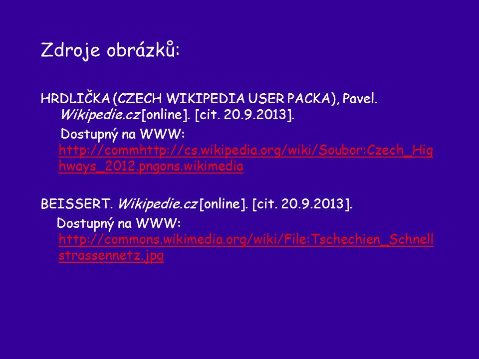 Zdroje obrázků: HRDLIČKA (CZECH WIKIPEDIA USER PACKA), Pavel.