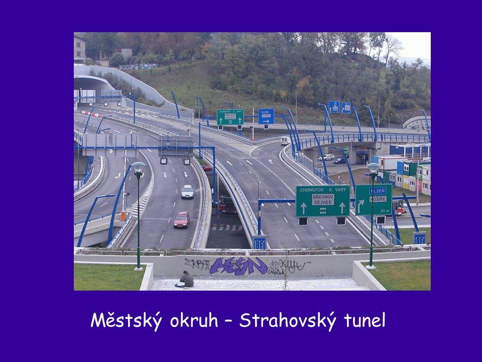 Městský okruh – Strahovský tunel