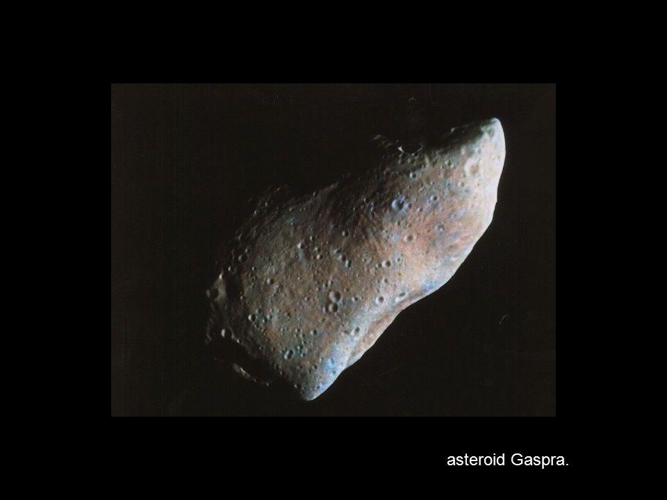 asteroid Gaspra.
