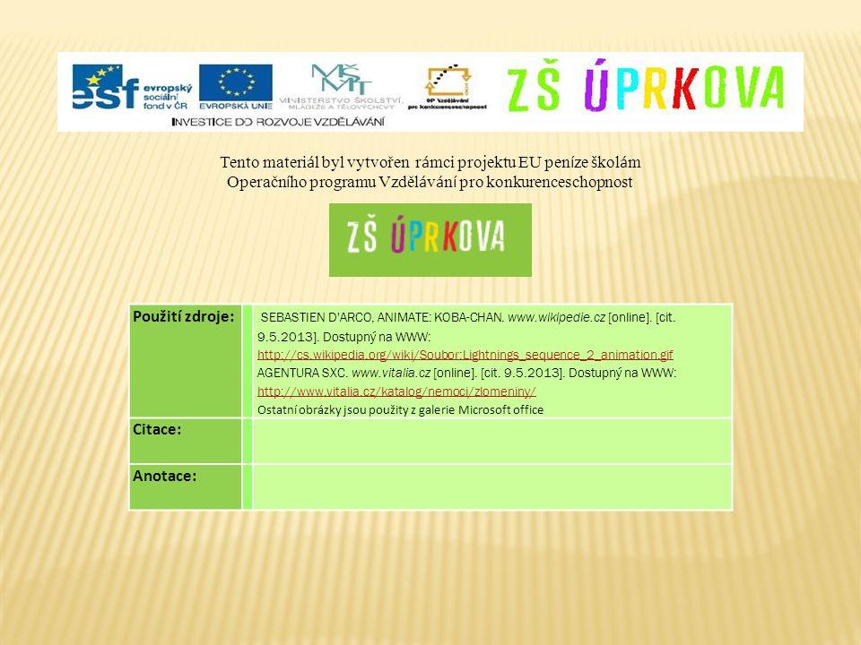 Použití zdroje: SEBASTIEN D'ARCO, ANIMATE: KOBA-CHAN. www.wikipedie.cz [online]. [cit. 9.5.2013]. Dostupný na WWW: http://cs.wikipedia.org/wiki/Soubor
