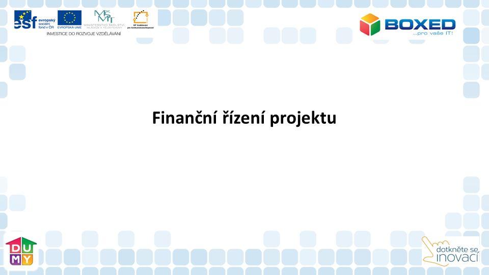 Finanční řízení projektu