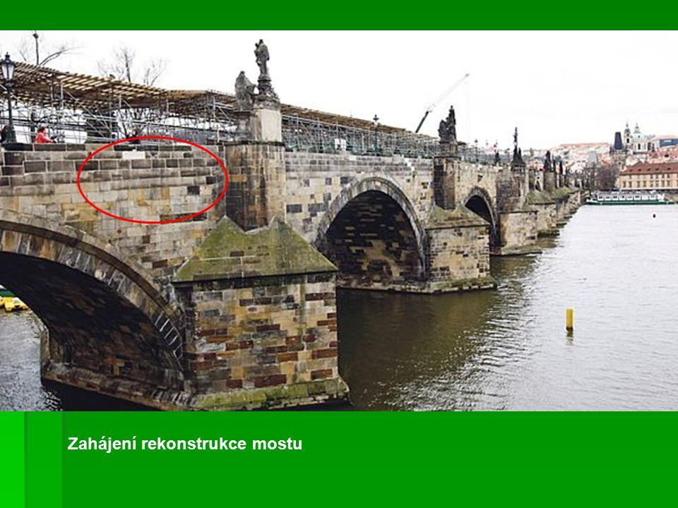 Zahájení rekonstrukce mostu