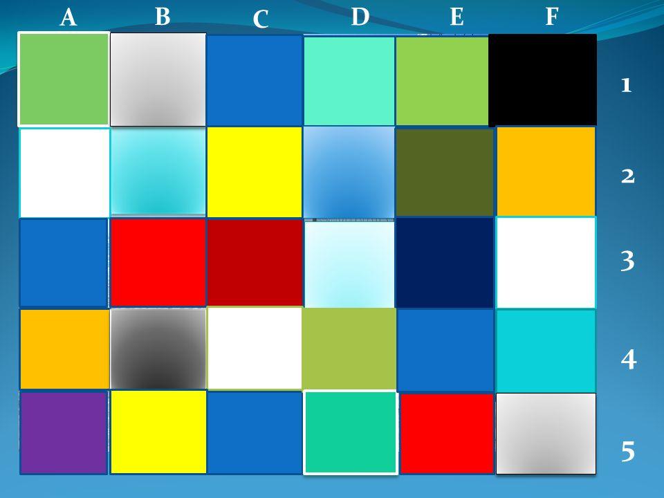 A B C DE F 1 2 3 4 5