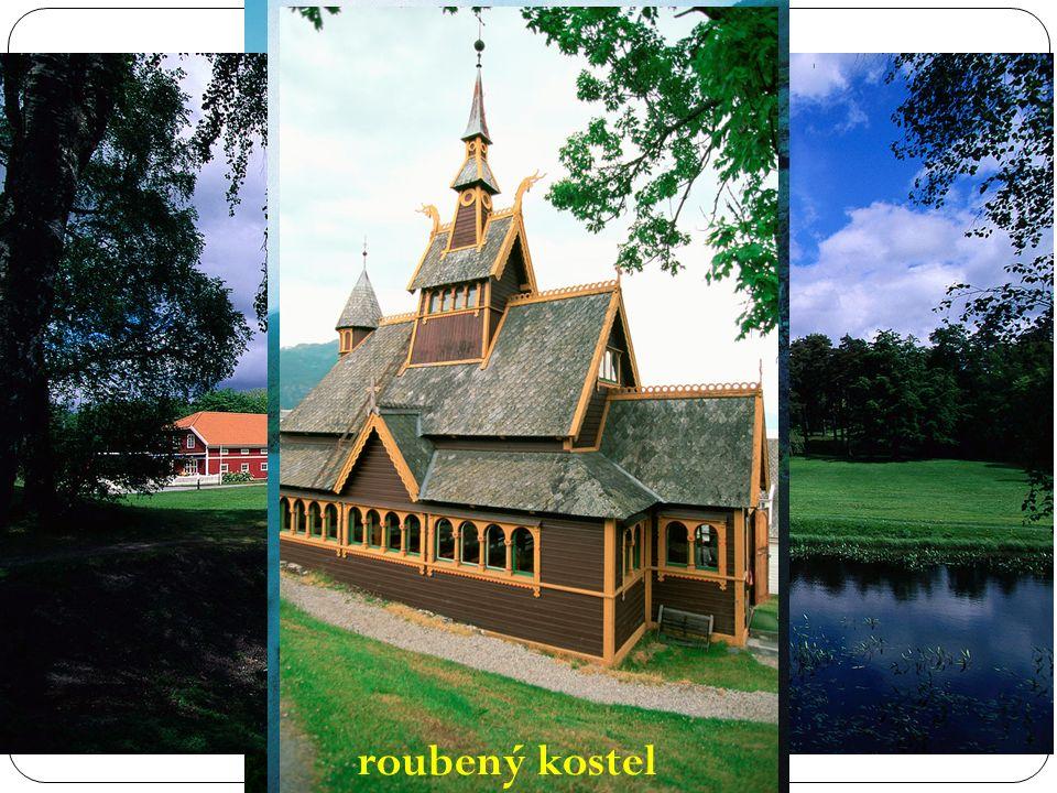 Fjord roubený kostel